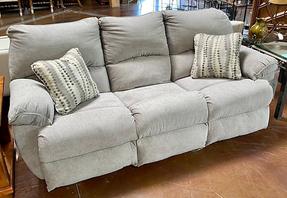 Grey Sadler Mica Lay Flat Reclining Sofa