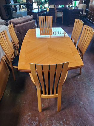 Made In Italy Excelsior Dining Table W/6 Chairs And 2 Leafs - Scottsdale