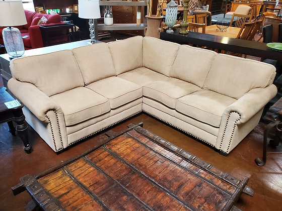 2pc Tan Sectional - Scottsdale