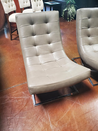 William Sonoma James Leather Chair - Scottsdale