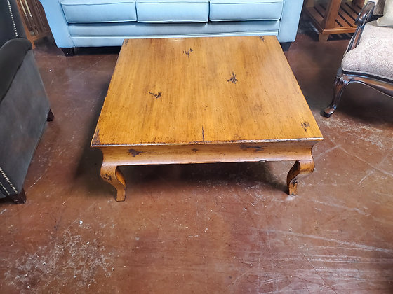 Wood Coffee Table W/2 Drawers - Scottsdale
