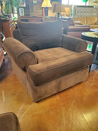 Brown Fabric Chair -Scottsdale
