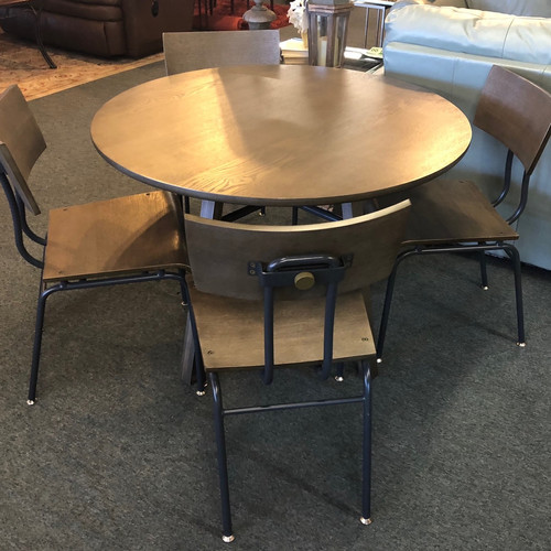 Crate U0026 Barrel Round Table W/ 4 Chairs   Phoenix