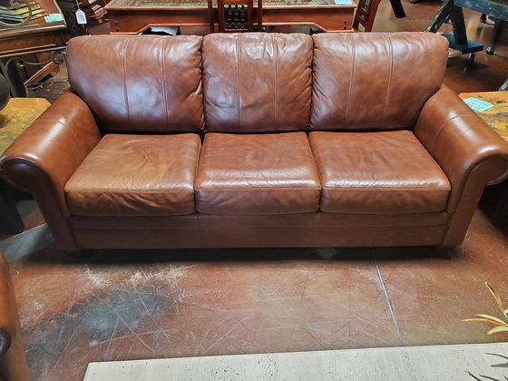 Ethan Allen Leather Sofa - Scottsdale
