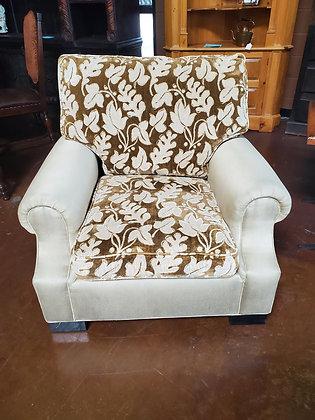 Baker Furniture Custom Fabric Arm Chair - Scottsdale