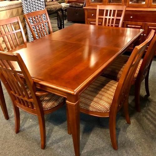 ... Thomasville Cherry Dining Room Table Phoenix