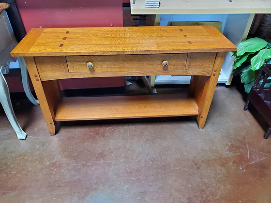 Thomasville Mission Style Sofa Table - Scottsdale