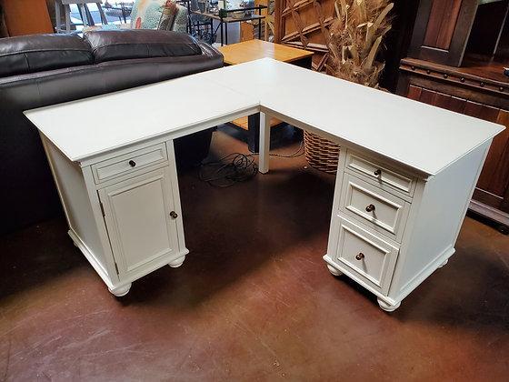 Pottery Barn Teen 2pc Desk - Scottsdale