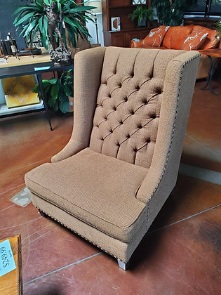 Bernhardt Wingback Chair W/Nailheads - Scottsdale