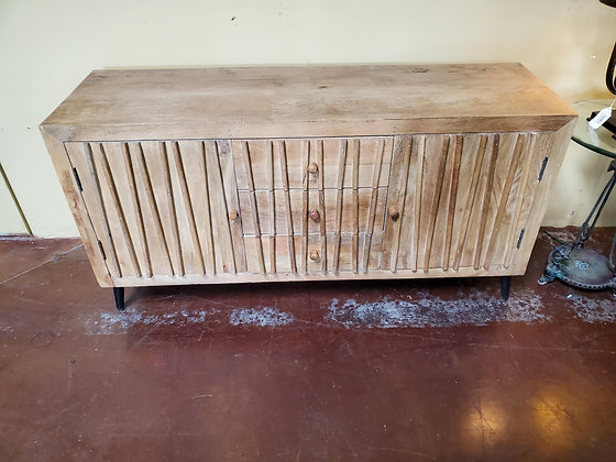 Large Natural Wood Console - Scottsdale