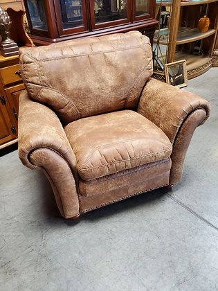 Tan Micro Suede Chair - Scottsdale