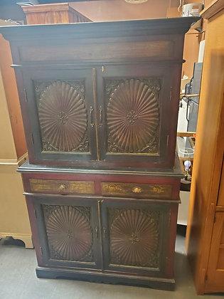 Rustic 2pc Storage Cabinet - Scottsdale