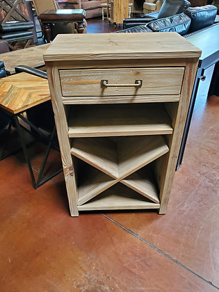 Pottery Barn Reclaimed Wood Wine Cabinet - Scottsdale