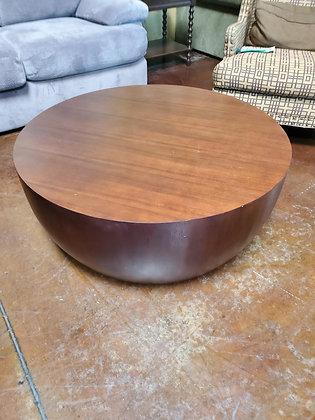 Crate & Barrel Drum Coffee Table - Scottsdale