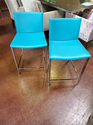 Set Of Two Modern Barstools - Scottsdale