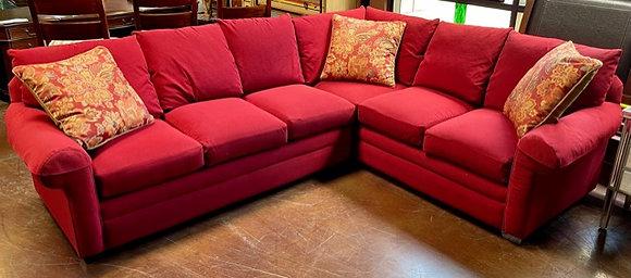 Bassett Crimson Sectional