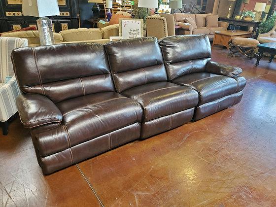 3pc Leather Reclining Sofa - Scottsdale