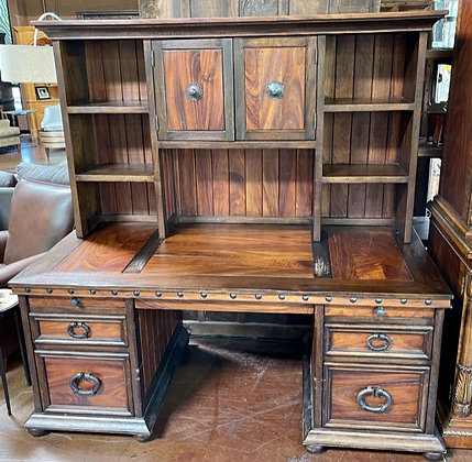Rustic Desk with Hutch (AS-IS)