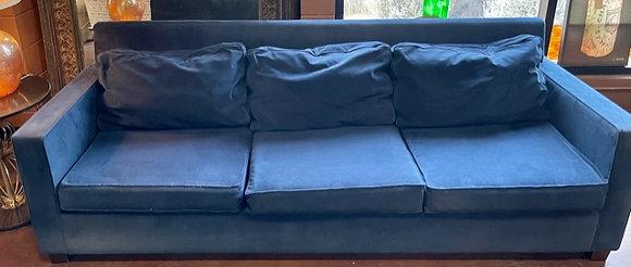"""West Elm """"Henry"""" Ink Blue Sofa"""