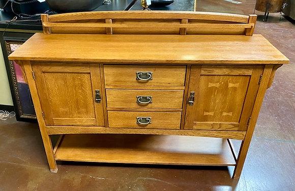 Bassett Furniture Mission Style Buffet/Console