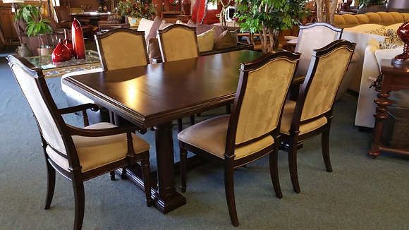 kincaid colonnade dining room table and chairs phoenix - Dining Room Furniture Phoenix