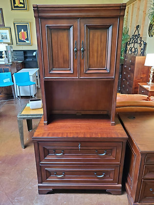 Aspen Home File Cabinet W/Hutch - Scottsdale