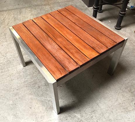 Wood & Metal Patio End Table - Scottsdale