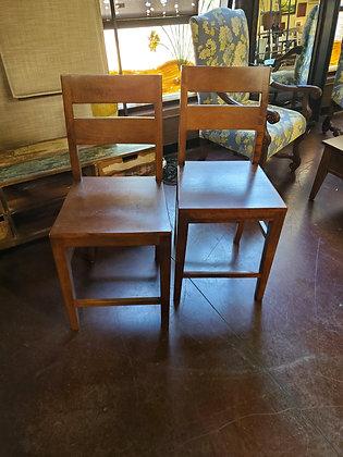 Set Of 2 Wood Barstools - Scottsdale