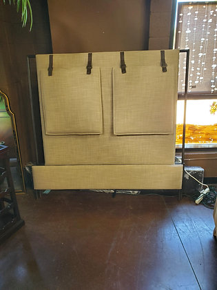 Four Hands Furniture Fabric And Metal Bed - Scottsdale