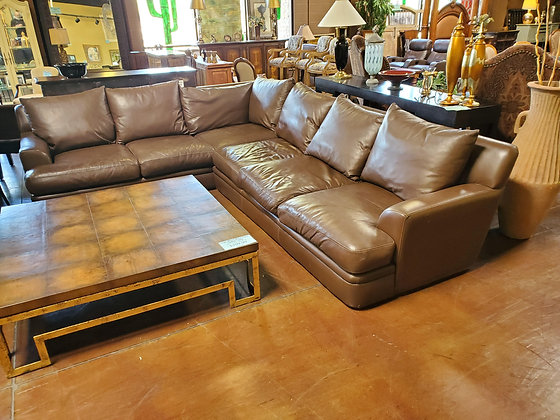 Creative Leather 2pc Sectional - Scottsdale