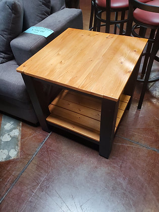 Two Tone Wood End Table - Scottsdale
