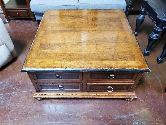 4 Drawer Wood Coffee Table - Scottsdale