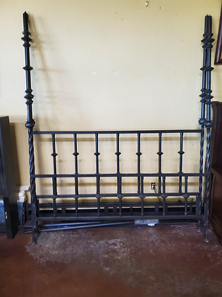 Iron Cal King Canopy Bed - Scottsdale - Airpark