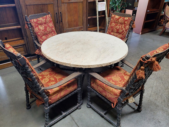 Patio Table Set W/4 Chairs - Scottsdale