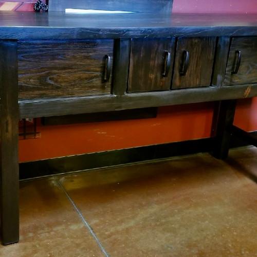 Rustic Wood Sofa Table · Rustic Wood Sofa Table Scottsdale Airpark