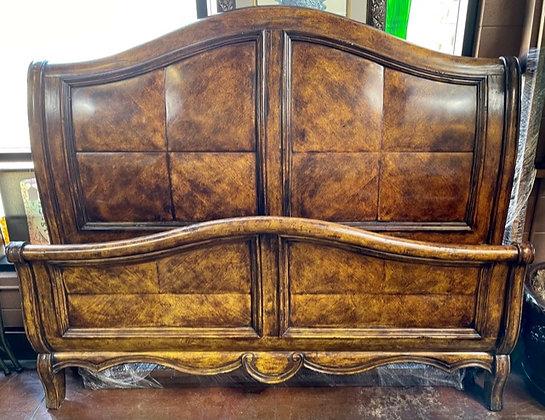 Rustic King Sleigh Bed Scottsdale