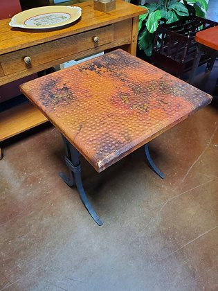 Copper End Table - Scottsdale