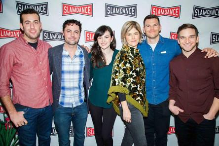Creators and cast of Kate Can't Swim at Slamdance Film Festival