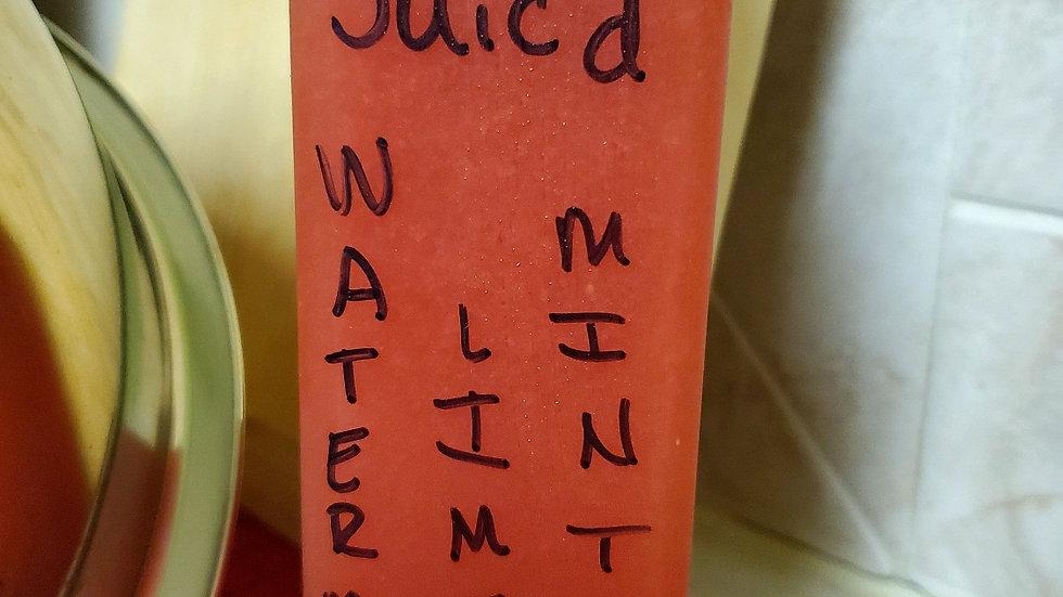 Watermelon Lime Mint Juice