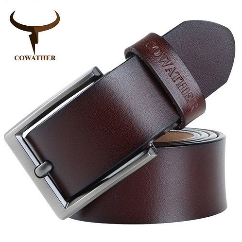 Men Belt/Leather Luxury Strap/ New Fashion Classic