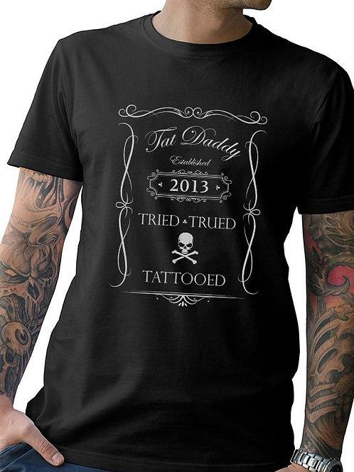 """Tried, Trued, and Tattooed"" Mens Tee"