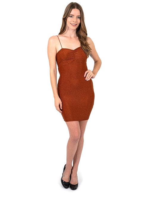 Janice Sparkle Sleeveless Mini Dress