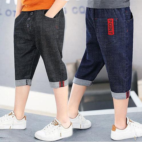 Hot Sale 2020 Kid Boys Shorts Blue Short Pants Denim Jeans Shorts Adjustable