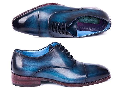 Paul Parkman Men's Captoe Oxfords Blue & Turquoise