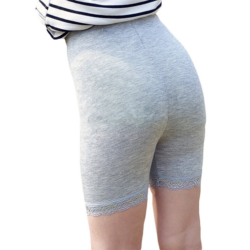 Girl Safety Shorts Pants Solid Underwear Soft Elastic Modal Leggings Girls Lace