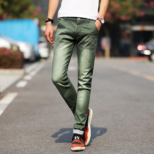 Skinny Jeans Men 2020 Fashion Stretch Jeans /Slim Fit  Black Blue