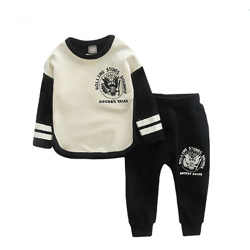 2019 Baby Boy Clothes Winter Cartoon Boy Clothing Set Long Sleeves Leisure Boys