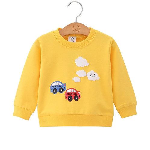 Children Pullover Sweatshirts Boys Girl Kids Sweatshirt Tops Baby Boys