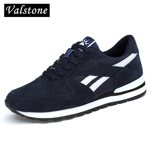 Genuine Leather Sneakers Breathable Casual Shoes Super Light