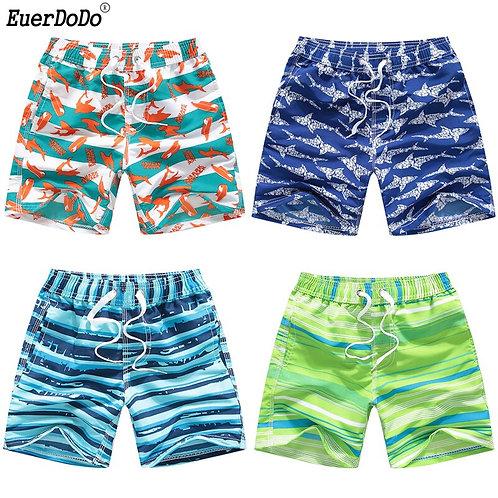 Shark Swimming Trunks for Boys Shorts Teenage Boys Swimwear Kids Short Pants